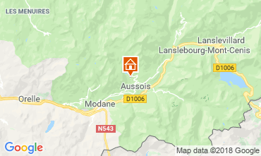 Mappa Aussois Chalet 91664