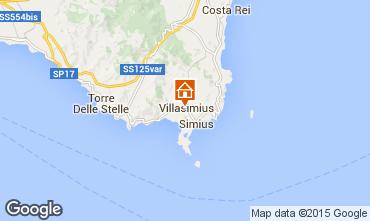 Mappa Villasimius Appartamento 75670