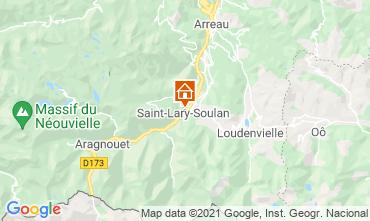 Mappa Saint Lary Soulan Appartamento 110668