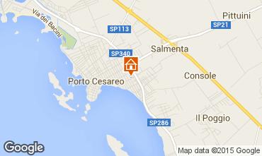 Mappa Porto Cesareo Appartamento 79316