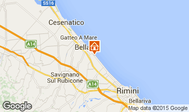Mappa Bellaria Igea Marina Appartamento 31595