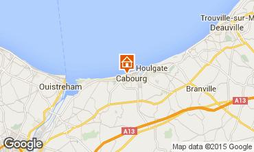 Mappa Cabourg Appartamento 84181