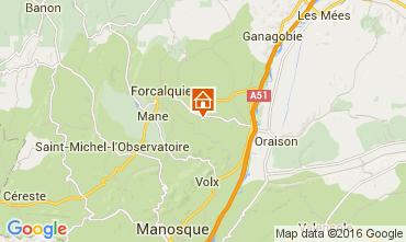 Mappa Forcalquier Casa 90128