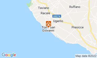 Mappa Ugento - Torre San Giovanni Appartamento 101983