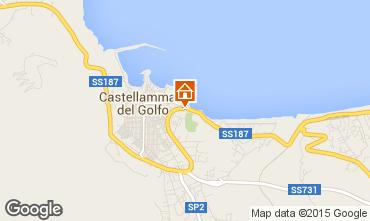 Mappa Castellammare del Golfo Appartamento 46504