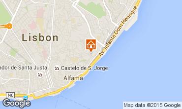 Mappa Lisbona Appartamento 74082
