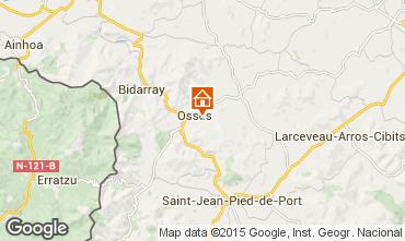 Mappa Saint Jean Pied de Port Appartamento 82959