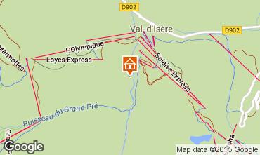 Mappa Val d'Isère Appartamento 3347