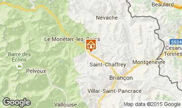 Mappa Serre Chevalier Chalet 2855