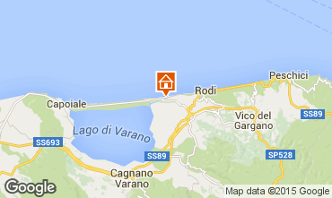 Mappa Gargano Appartamento 55197