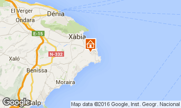 Mappa Jávea Villa  91445