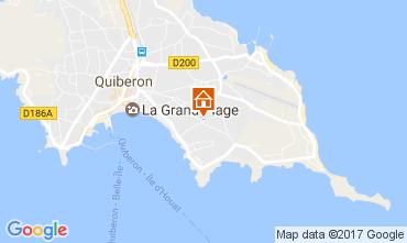 Mappa Quiberon Appartamento 107693