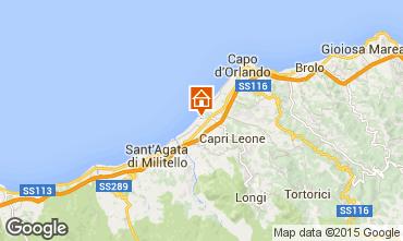 Mappa Capo d'Orlando Villa  77676