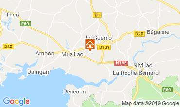 Mappa Muzillac Agriturismo 83495