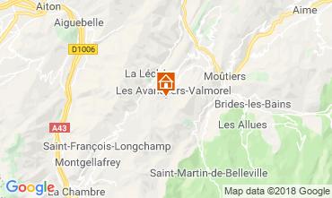 Mappa Valmorel Monolocale 54858