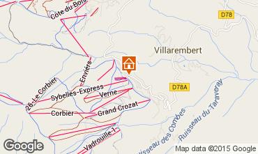 Mappa Le Corbier Monolocale 1071