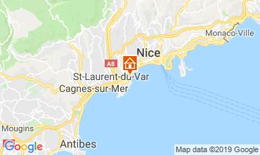 Mappa Nizza Monolocale 91458