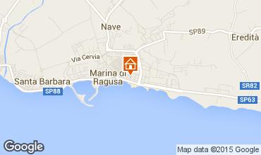 Mappa Marina di Ragusa Appartamento 94320
