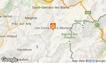 Mappa Les Contamines Montjoie Monolocale 50448