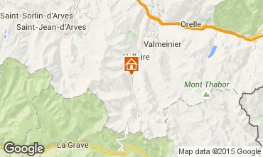 Mappa Valloire Appartamento 50290