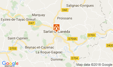 Mappa Sarlat Monolocale 113167
