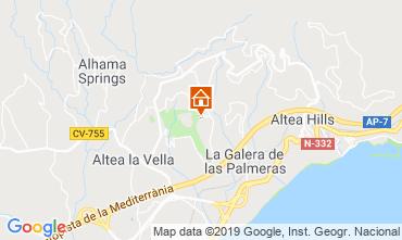 Mappa Altea Chalet 118053