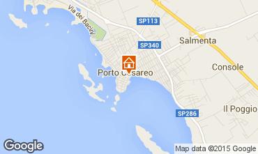 Mappa Porto Cesareo Appartamento 96835