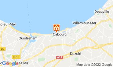 Mappa Cabourg Appartamento 55705