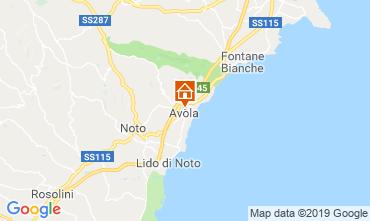 Mappa Avola Monolocale 119075
