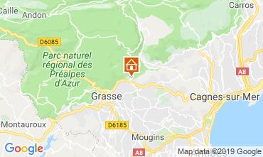 Mappa Grasse Villa  118680