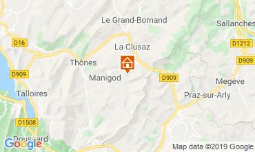 Mappa La Clusaz Appartamento 112201