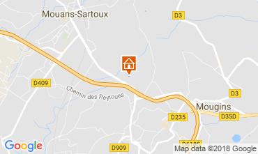 Mappa Cannes Appartamento 115251