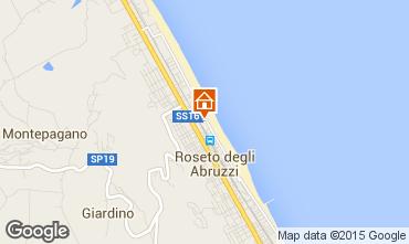 Mappa Roseto degli Abruzzi Appartamento 63806