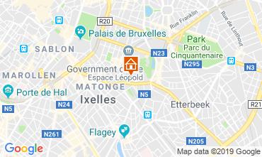 Mappa Bruxelles Appartamento 118001