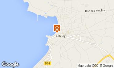 Mappa Erquy Casa 66208