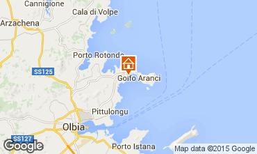 Mappa Golfo Aranci Appartamento 78489