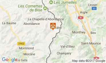 Mappa Châtel Monolocale 112554