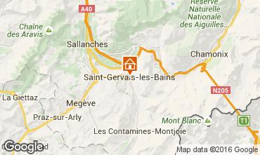 Mappa Saint Gervais Mont-Blanc Monolocale 103150