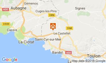Mappa La Cadière d'Azur Villa  113830