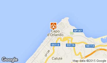 Mappa Capo d'Orlando Appartamento 93140