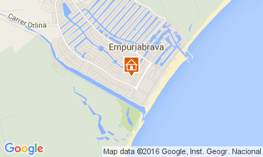 Mappa Empuriabrava Casa 104033