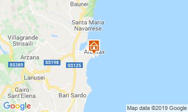 Mappa Arbatax Appartamento 114742
