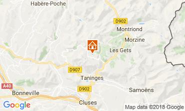 Mappa Praz de Lys Sommand Monolocale 115890