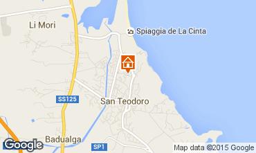 Mappa San Teodoro Monolocale 75597