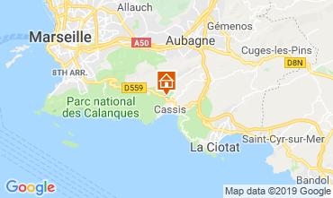 Mappa Cassis Appartamento 118046