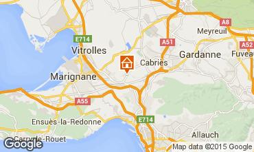 Mappa Marsiglia Villa  74586
