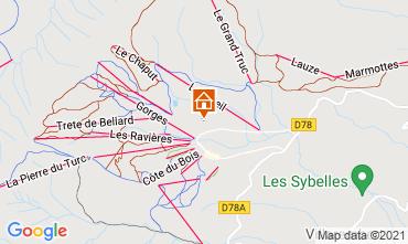 Mappa La Toussuire Appartamento 111695