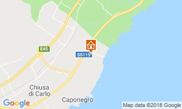 Mappa Avola Villa  116152