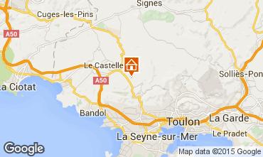 Mappa Le Beausset Villa  40376