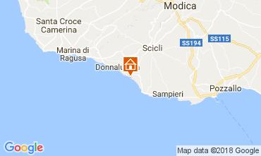 Mappa Donnalucata Villa  112801